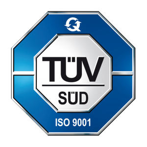 Certyfikat TUV ISO 9001